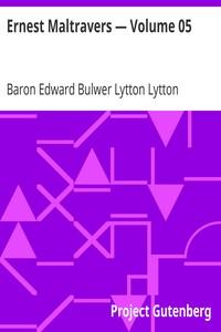 Cover of Ernest Maltravers — Volume 05