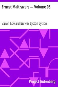 Cover of Ernest Maltravers — Volume 06