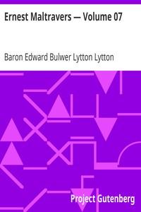 Cover of Ernest Maltravers — Volume 07