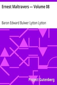 Cover of Ernest Maltravers — Volume 08