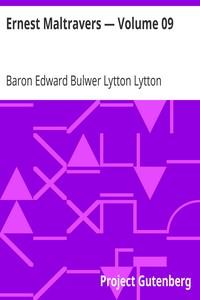Cover of Ernest Maltravers — Volume 09
