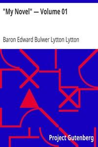 """Cover of """"My Novel"""" — Volume 01"""