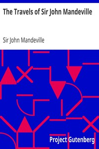 Cover of The Travels of Sir John Mandeville