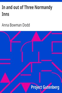 Cover of In and out of Three Normandy Inns
