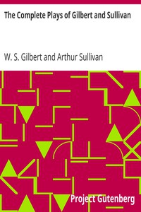 Cover of The Complete Plays of Gilbert and Sullivan