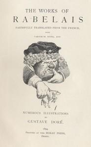 Cover of Gargantua and Pantagruel, Illustrated, Book 1