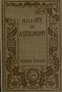Cover of History of Astronomy