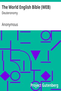Cover of The World English Bible (WEB): Deuteronomy