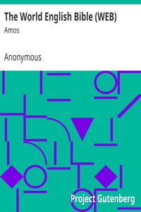 Cover of The World English Bible (WEB): Amos