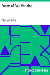 Cover of Poems of Paul Verlaine