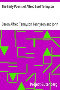 Cover of The Early Poems of Alfred Lord Tennyson