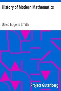 History of Modern MathematicsMathematical Monographs No. 1