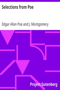 Cover of Selections from Poe