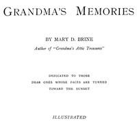 Cover of Grandma's Memories