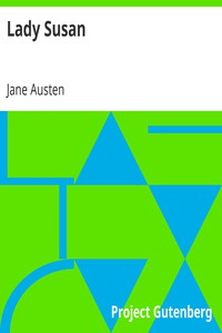 Cover of Lady Susan