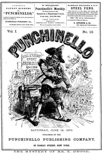 Cover of Punchinello, Volume 1, No. 12, June 18, 1870