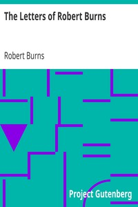 Cover of The Letters of Robert Burns