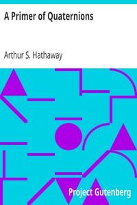 Cover of A Primer of Quaternions