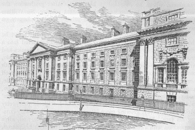 Illustration: TRINITY COLLEGE, DUBLIN