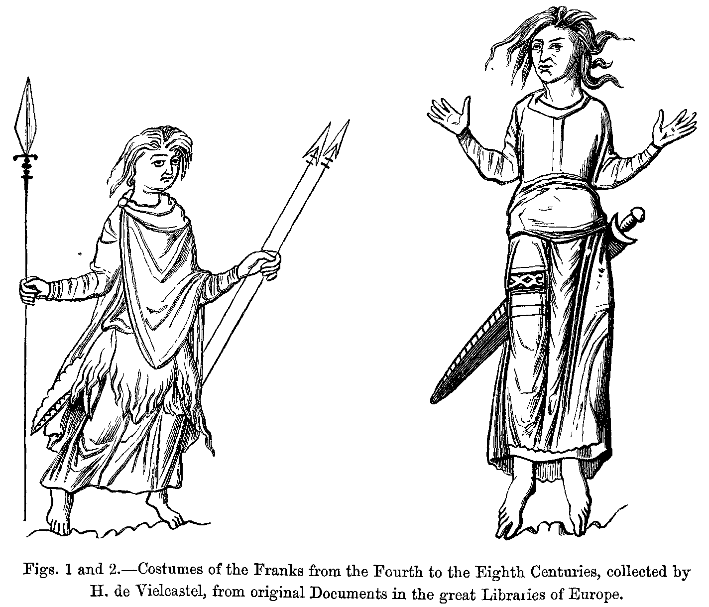 Manners customs and dress during the middle ages and during the figs 1 and 2 biocorpaavc Choice Image
