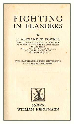 The project gutenberg ebook of fighting in flanders by e alexander foreword fandeluxe Choice Image