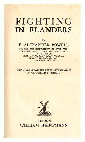 The project gutenberg ebook of fighting in flanders by e alexander foreword fandeluxe Gallery