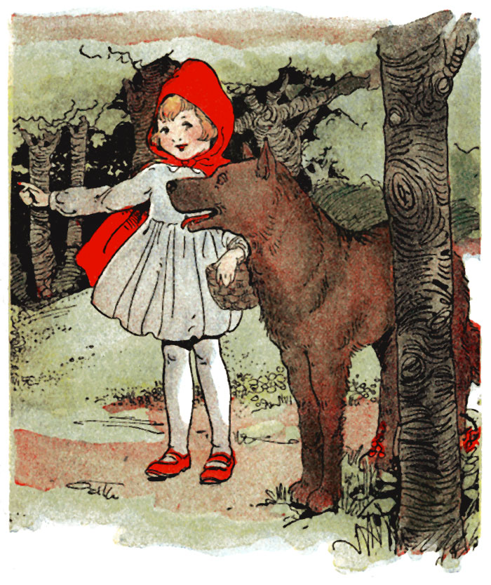 The Project Gutenberg Ebook Of Children S Hour With Red Riding