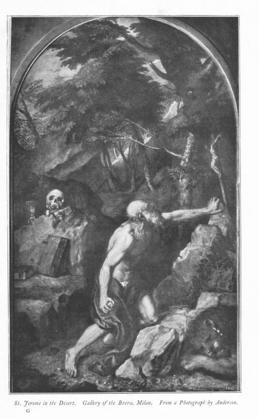 The project gutenberg ebook of the later works of titian by claude st jerome in the desert gallery of the brera milan from a fandeluxe Choice Image