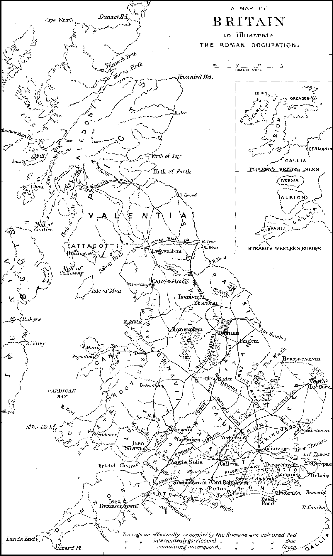 The project gutenberg ebook of early britain roman britain by a map of britain to illustrate the roman occupation london published by the society for promoting christian knowledge fandeluxe Images
