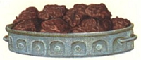 Chocolate Cocoanut Cakes.