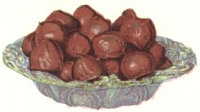 Fig and Nut Chocolates.