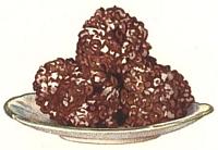 Chocolate Pop Corn Balls.