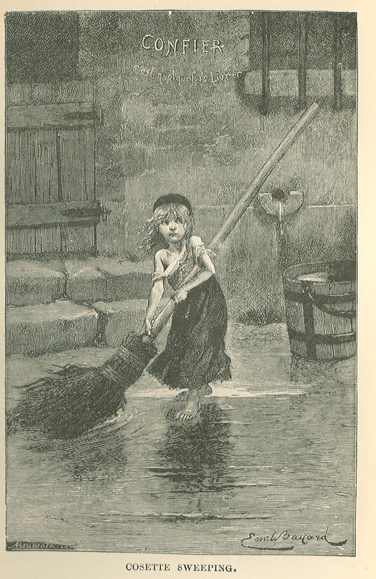 Les Misérables, Five Volumes, Complete by Victor Hugo
