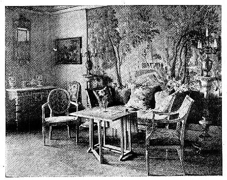 Photo of an Italian Louis XVI Salon