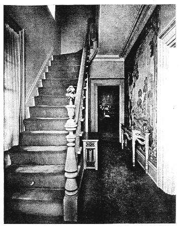 Photo of a narrow hall