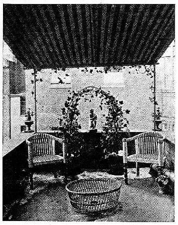 Photo of a balcony