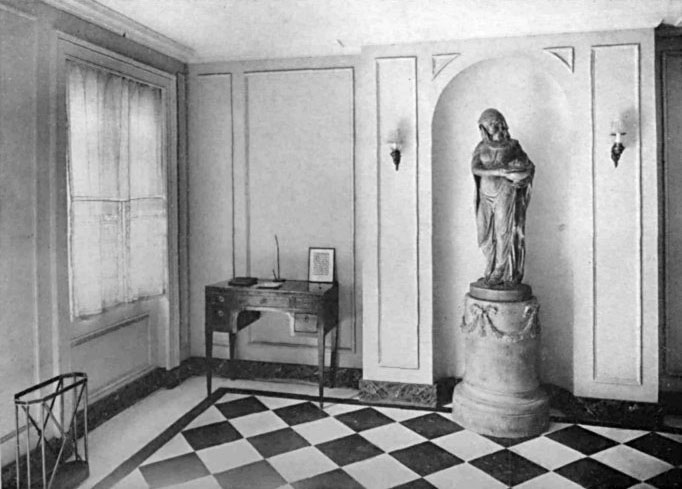 IN THIS HALL SIMPLICITY SUITABILITY AND PROPORTION ARE OBSERVED