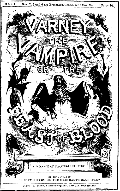 The Project Gutenberg Ebook Of Varney The Vampyre By Thomas