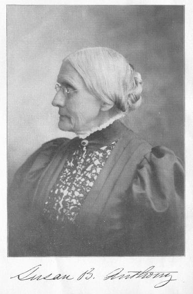 The Life And Work Of Susan B Anthony By Ida Husted Harper