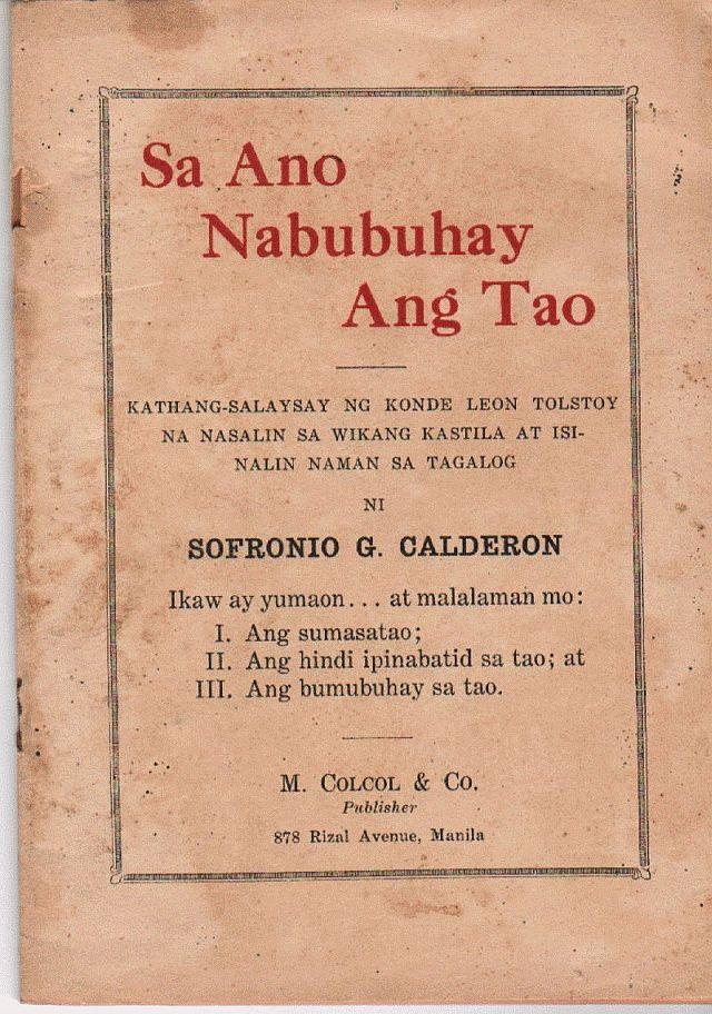 Sa Ano Nabubuhay Ang Tao
