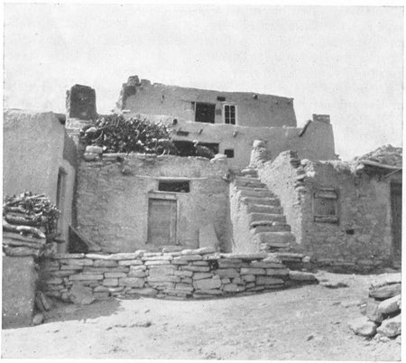 Figure 3.—Typical Hopi Home.