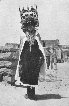 Figure 7.—Hopi Girl in Butterfly Costume.