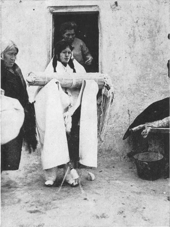 Figure 12.—A Hopi Bride.