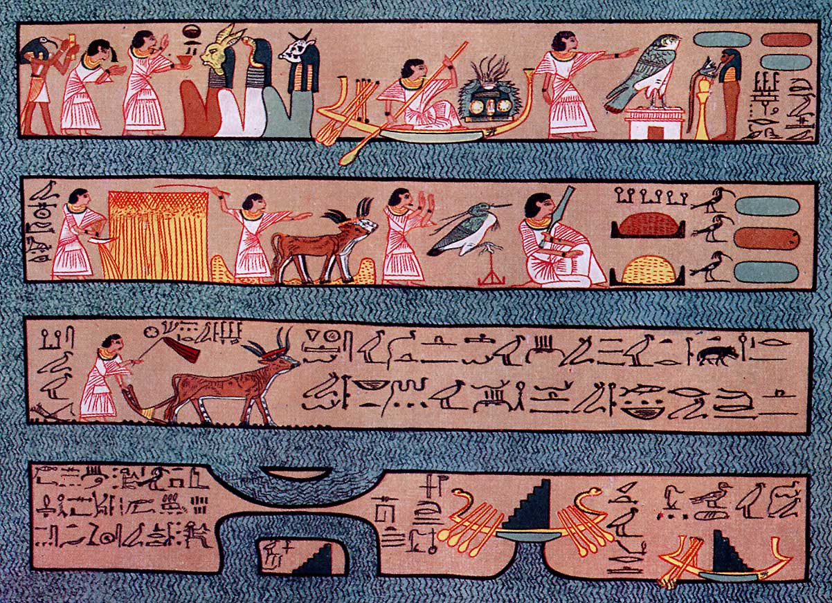 The Elysian Fields Of The Egyptians According To The Papyrus Of Ani