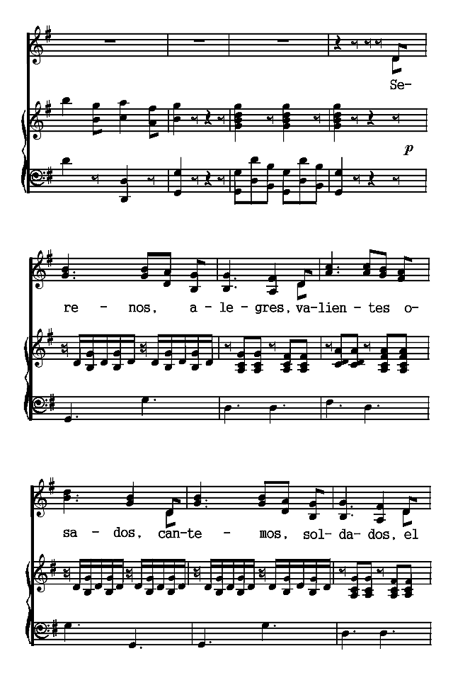 Modern Spanish Lyrics