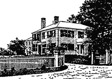 Home of Emerson in Concord.