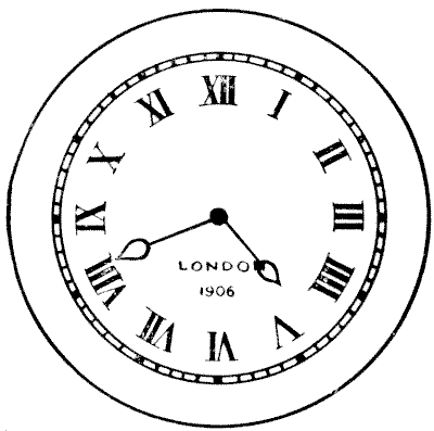 Clock Hands Drawing The Above Clock Face Indicates