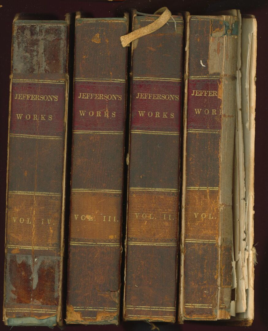 memoir correspondence and miscellanies from the papers of book spines 1829 set of jefferson papers