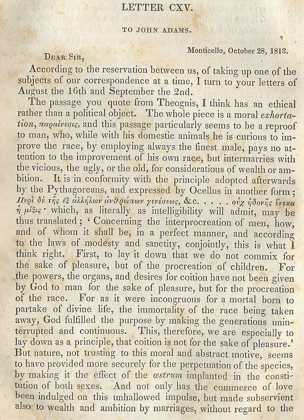 memoir correspondence and miscellanies from the papers of thomas jefferson vol iv