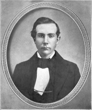 MR. JOHN D. ROCKEFELLER AT THE AGE OF EIGHTEEN.